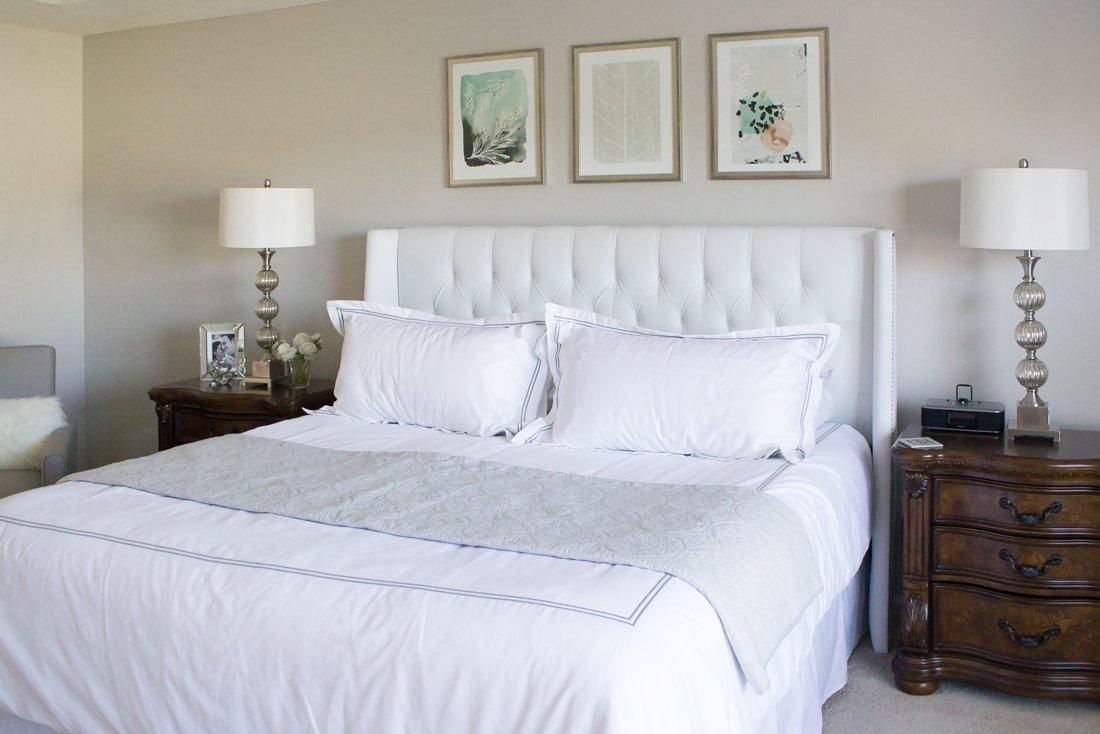 bedroom Minted art update