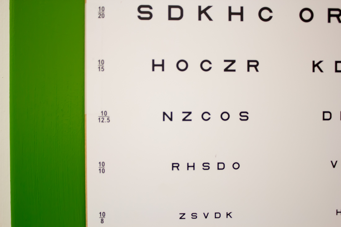 eye chart - Pearle Vision in Jacksonville Florida