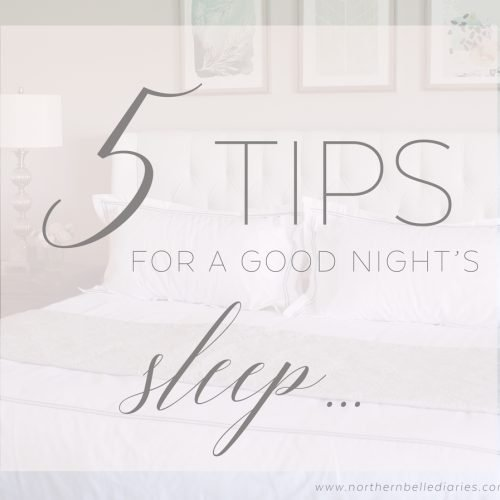 5 Tips for a Good Night's Sleep #ad #PerfectSleeper