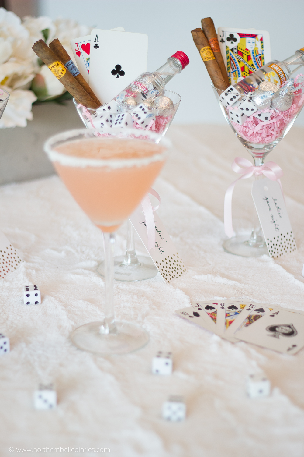 Ladies' Night gift idea + cocktail recipe