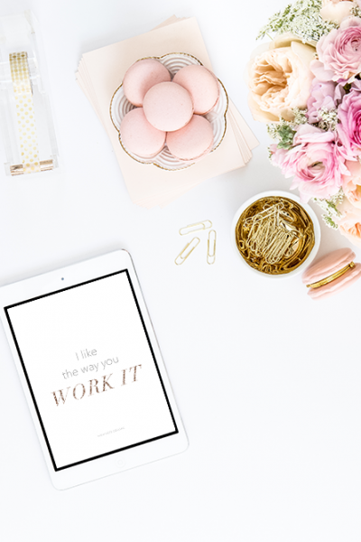 I Like the Way You Work It | iPhone 6s freebie
