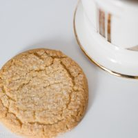 crunchy sugar cookie Fiber One and coffee #ad