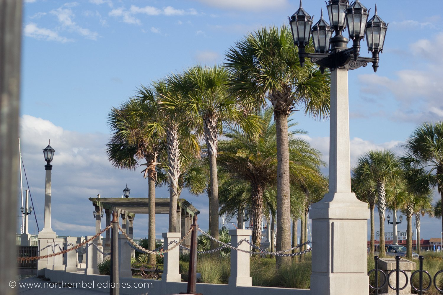 dock in St. Augustine Florida