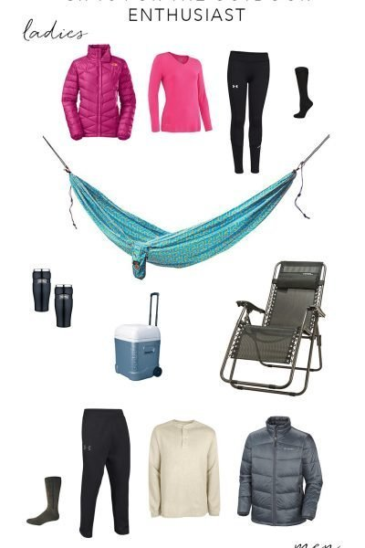 Holiday Gift Guide | Outdoor Enthusiast