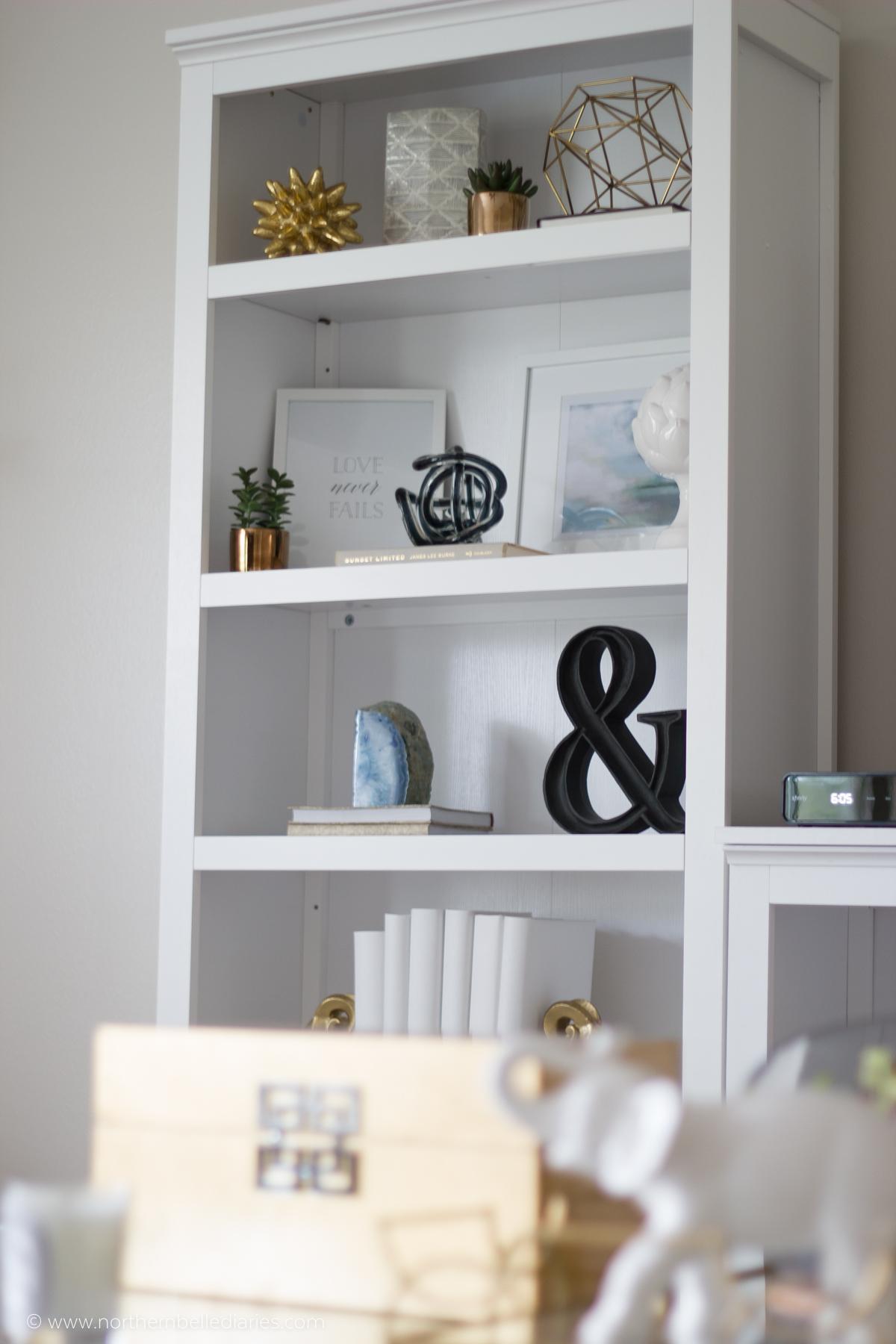 bookshelf in progress #bookshelfstylingclass #decor