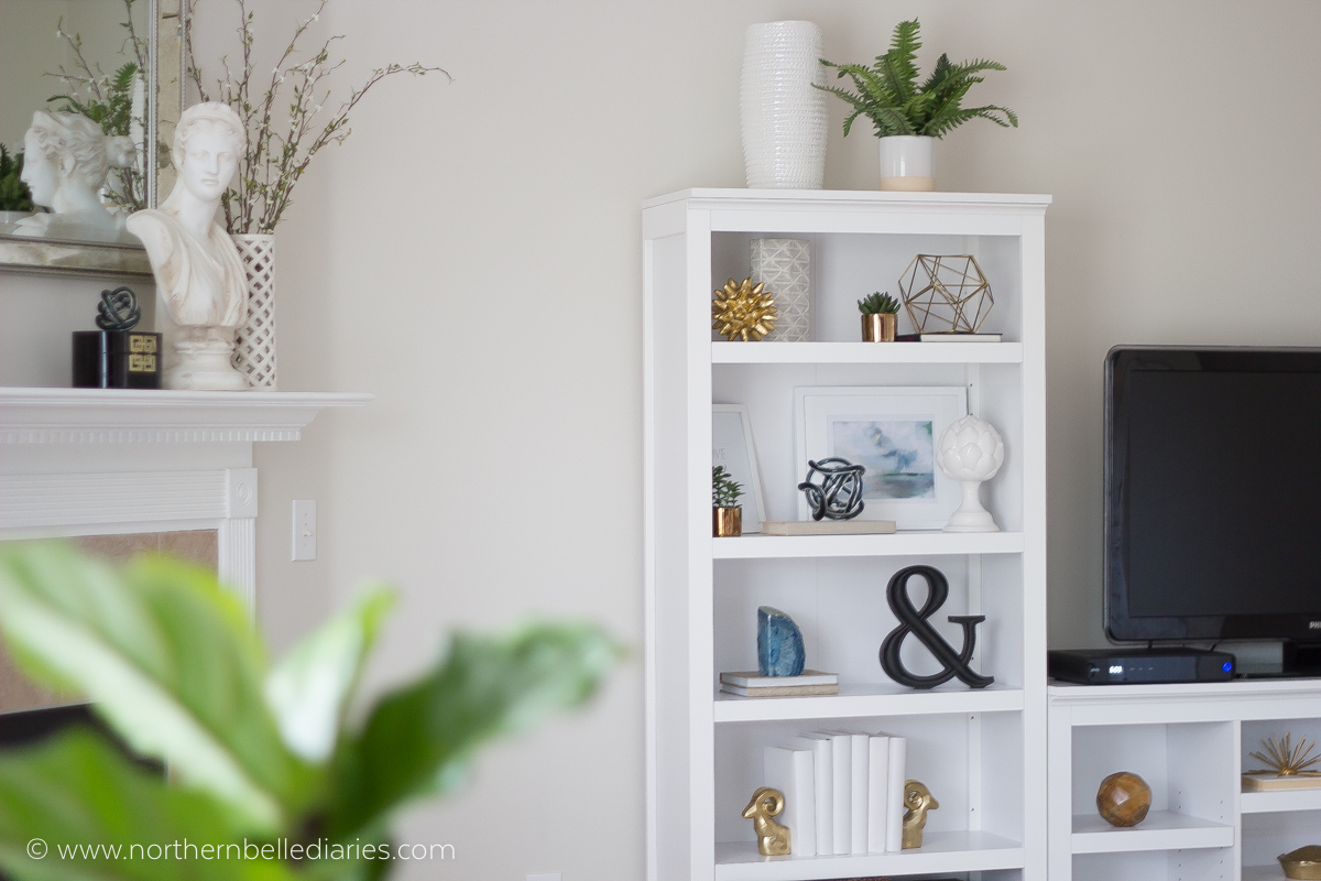 have you ever stared at gorgeous bookshelves on pinterest and wondered how to recreate the look - Bookshelf Decor