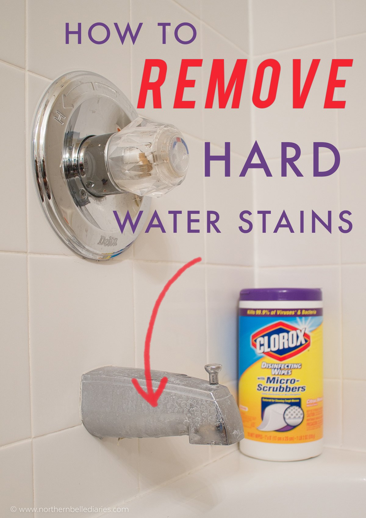 How to Remove Hard Water Stains on Chrome