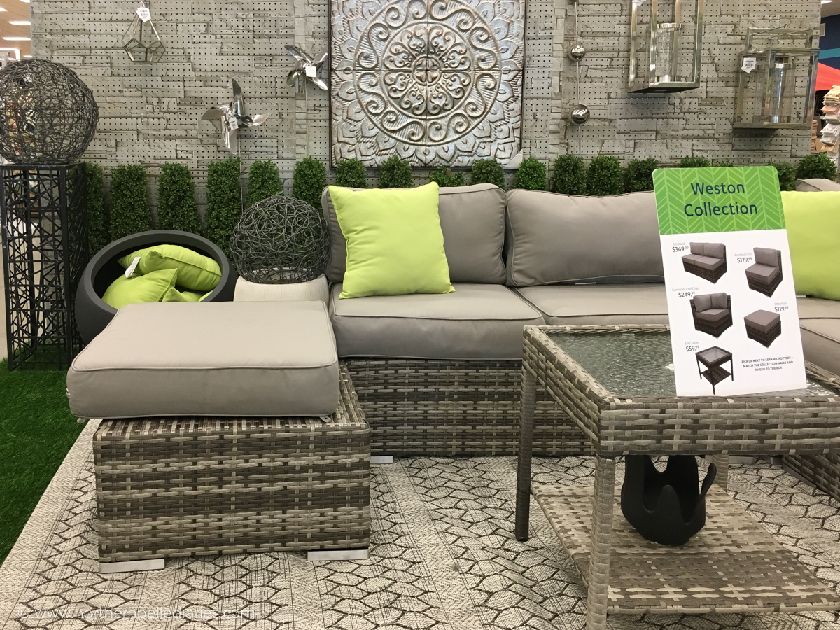 At Home Weston Collection patio furniture