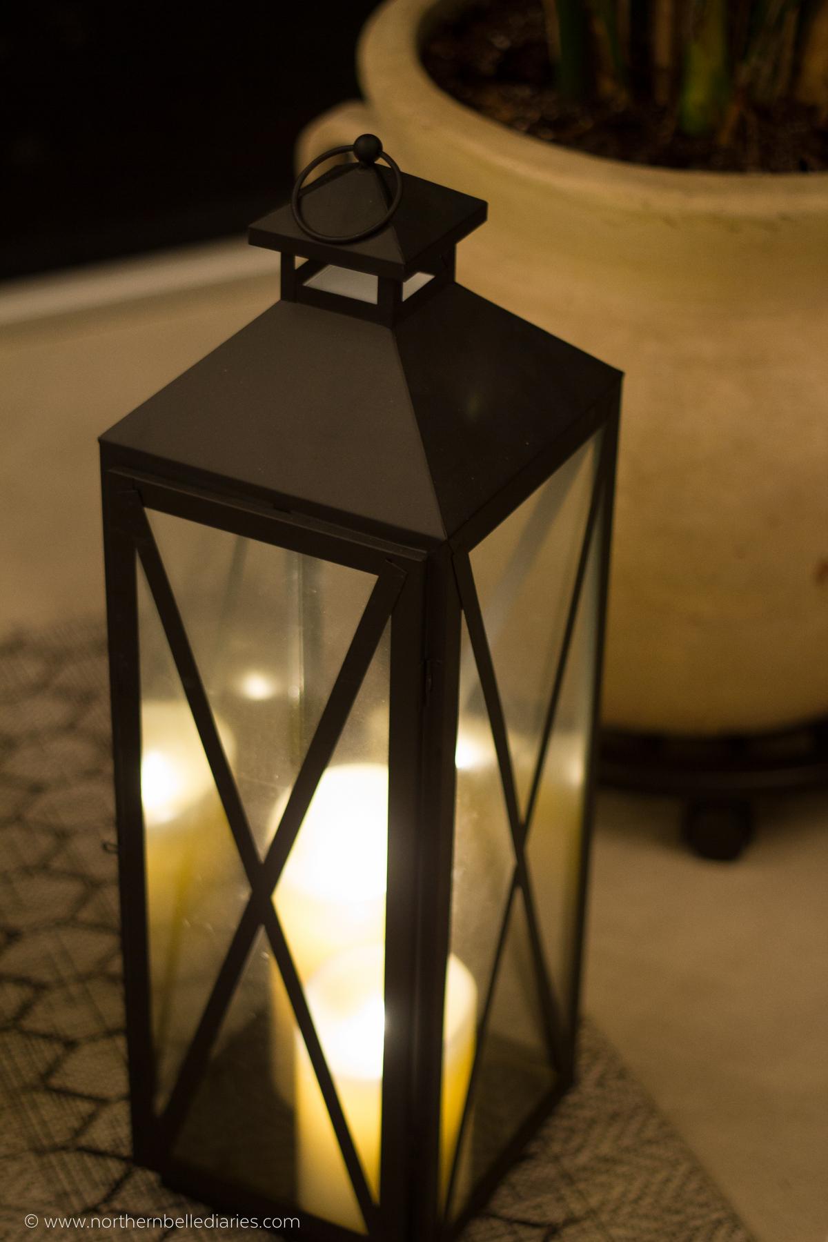 #AtHomefinds lantern at night-2