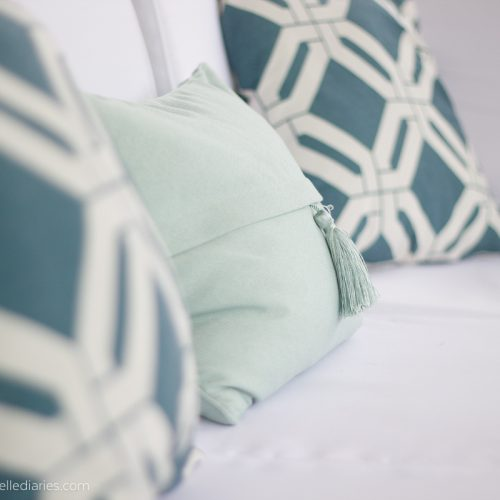 #AtHomefinds tassel pillow
