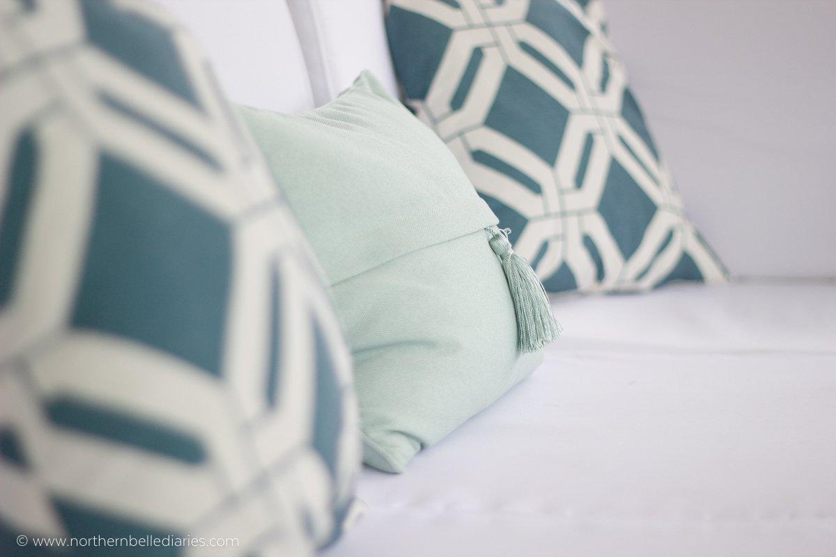 #AtHomefinds tassel pillow