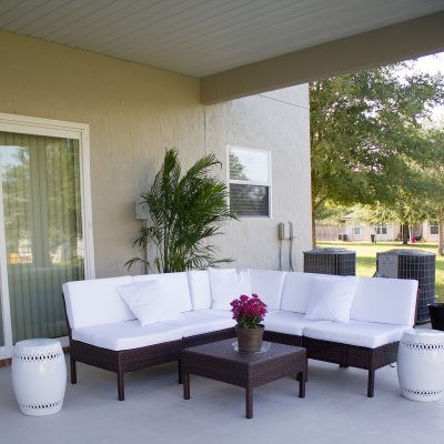 A Back Patio Oasis Transformation | Part One