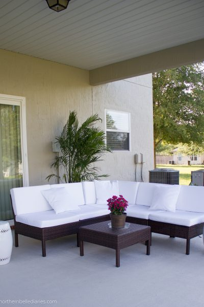 A Back Patio Oasis Transformation