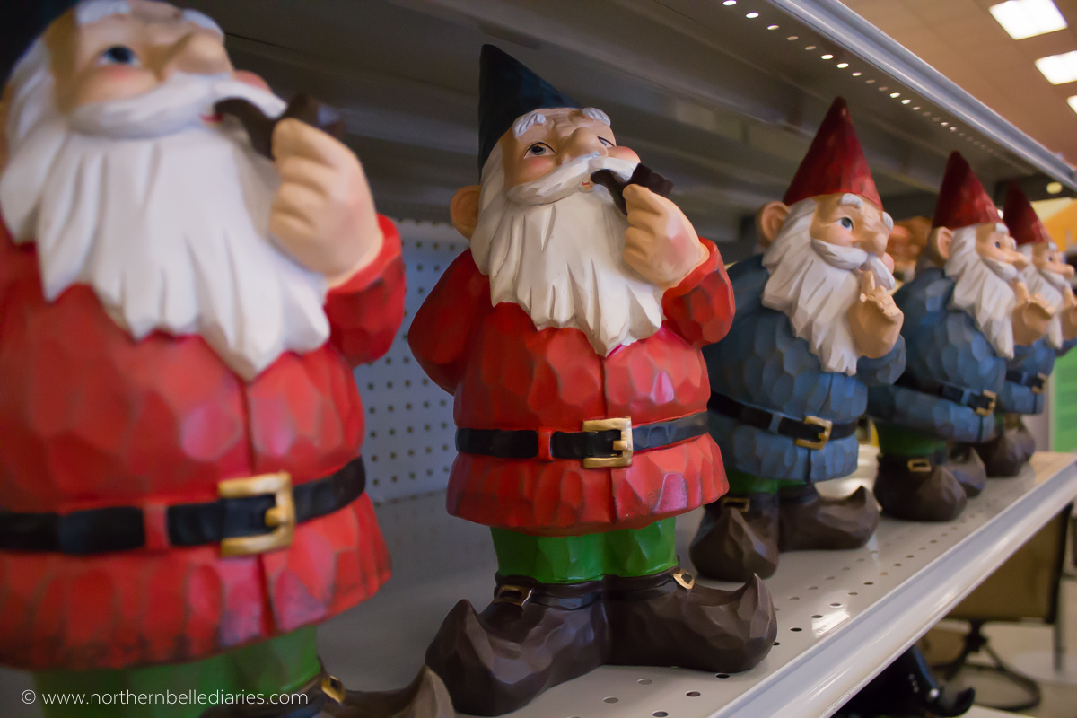 Whimsy garden gnomes #AtHomefinds