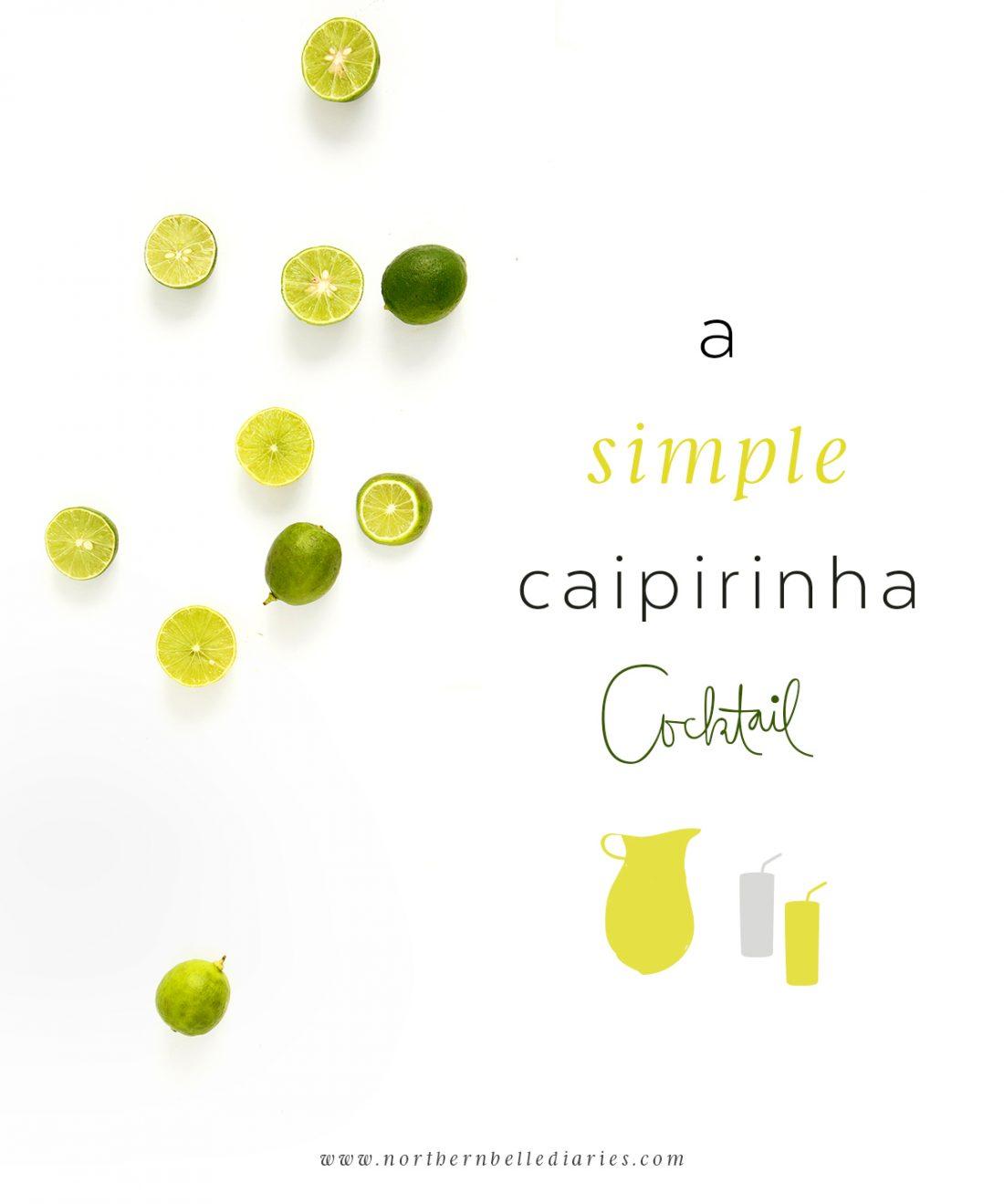 a simple caipirinha recipe