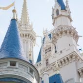 Magic Kingdom Cinderella's castle up close