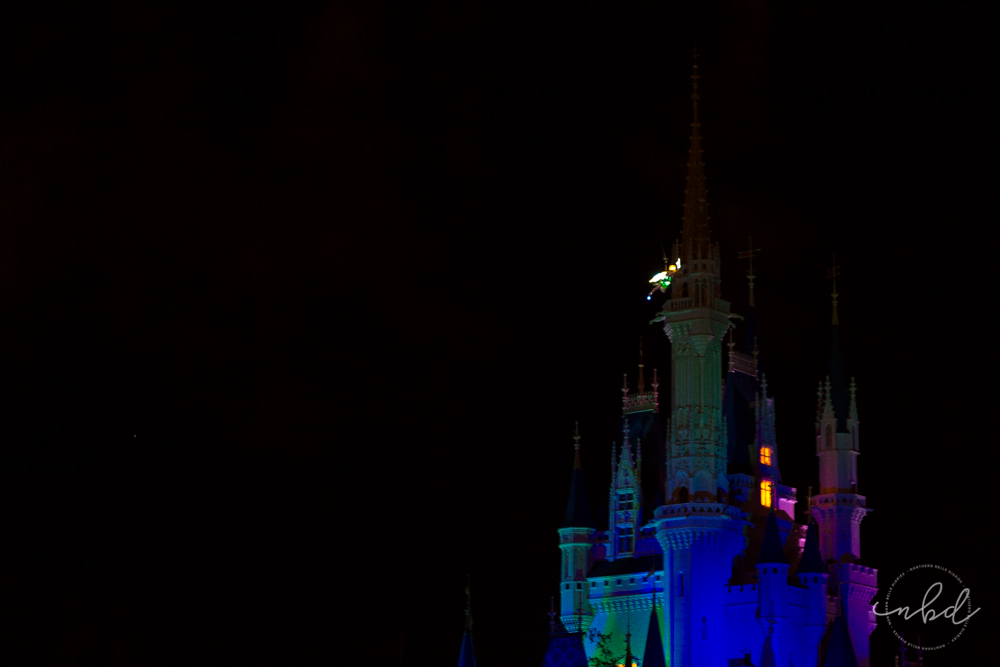 Magic Kingdom Illuminations Tinkerbell