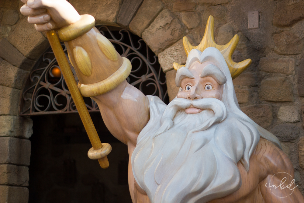 Magic Kingdom King Triton