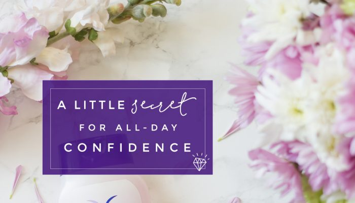 A Little Secret for All Day Confidence