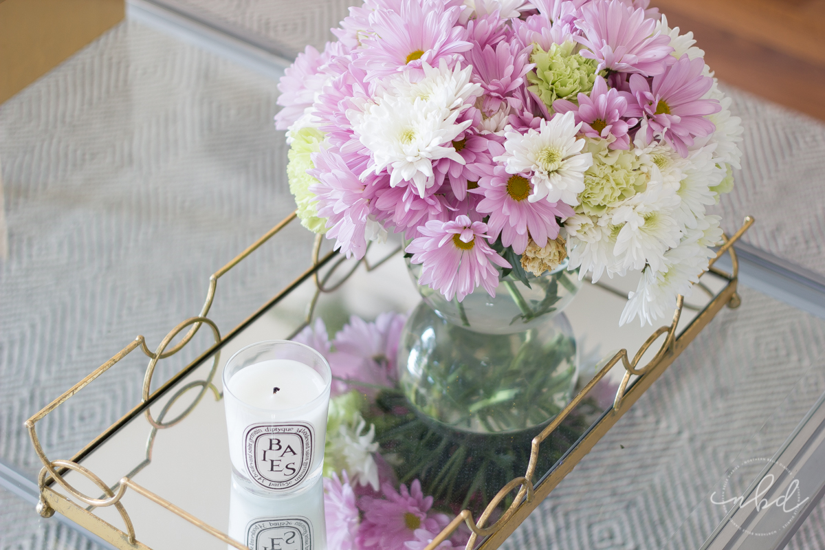 Flowers and Baies Diptyque candle