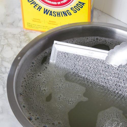 How to Clean Greasy Range Hood Filters