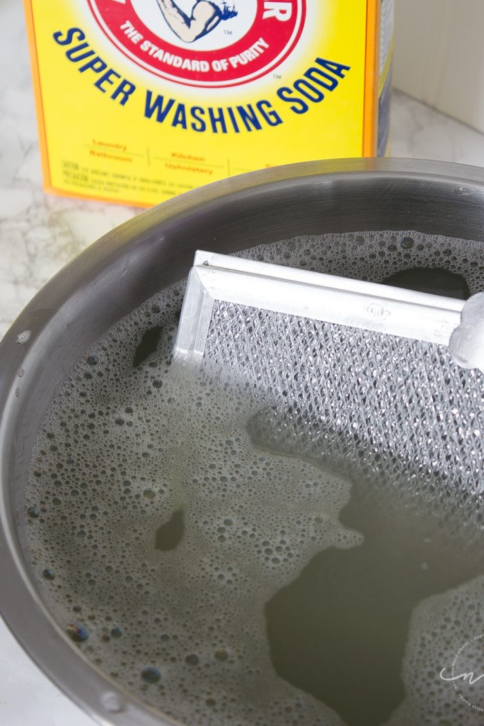 How to Clean a Greasy Range Hood Filter