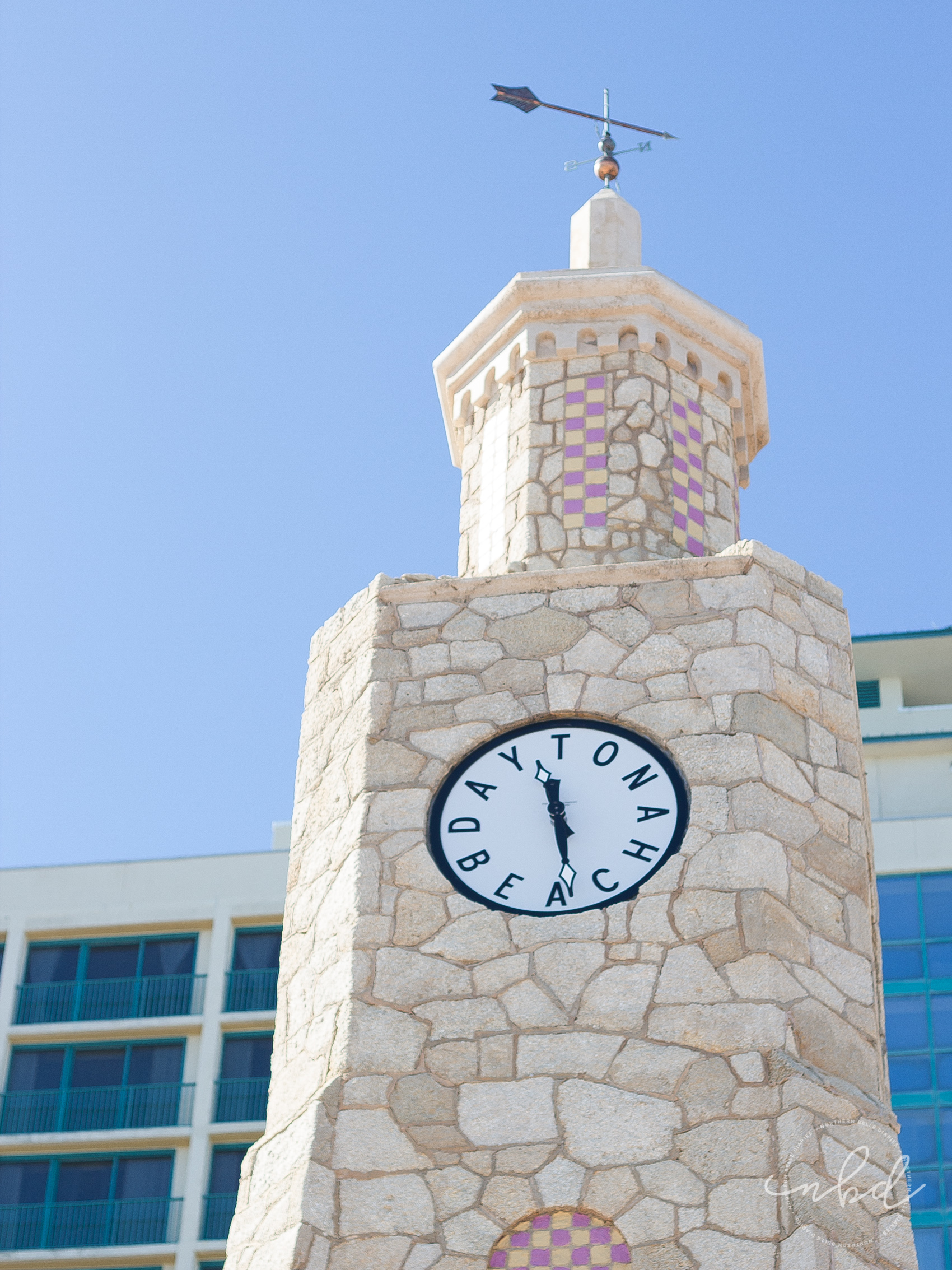 Daytona Clock - Daytona Beach