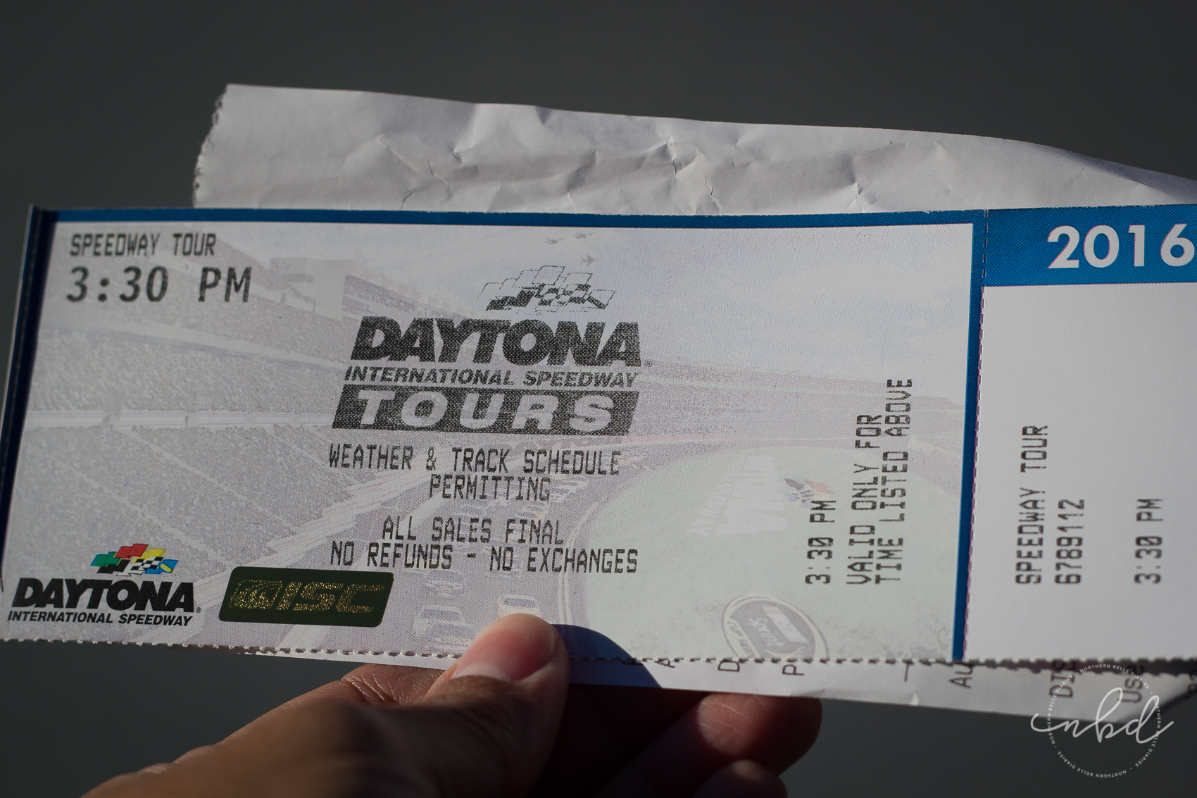 Daytona International Speedway tram tour ticket - Daytona Beach