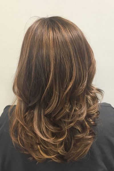 New hair: balayage