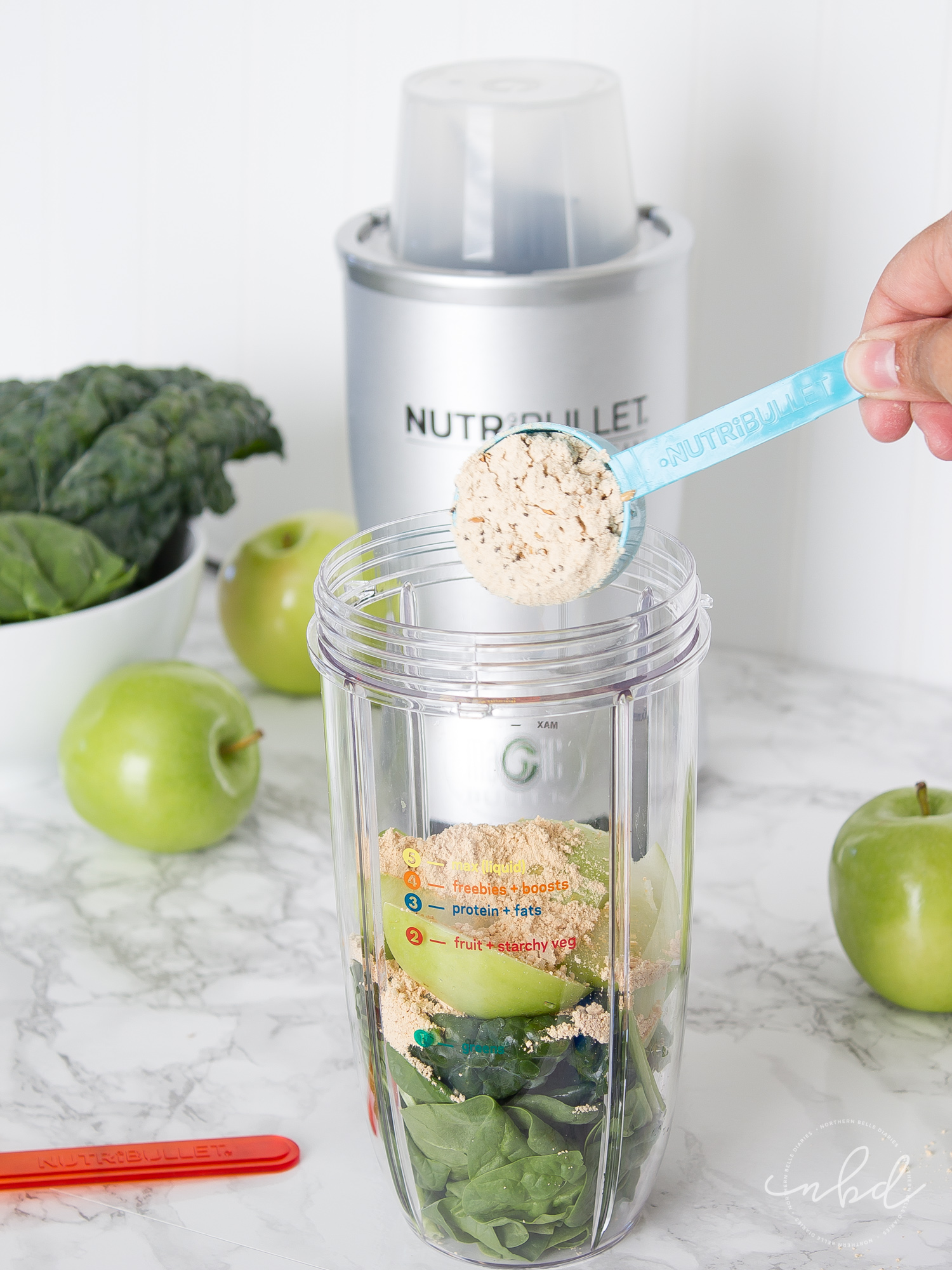 NutriBullet LEAN system 7-Day transformation adding LEAN Boost