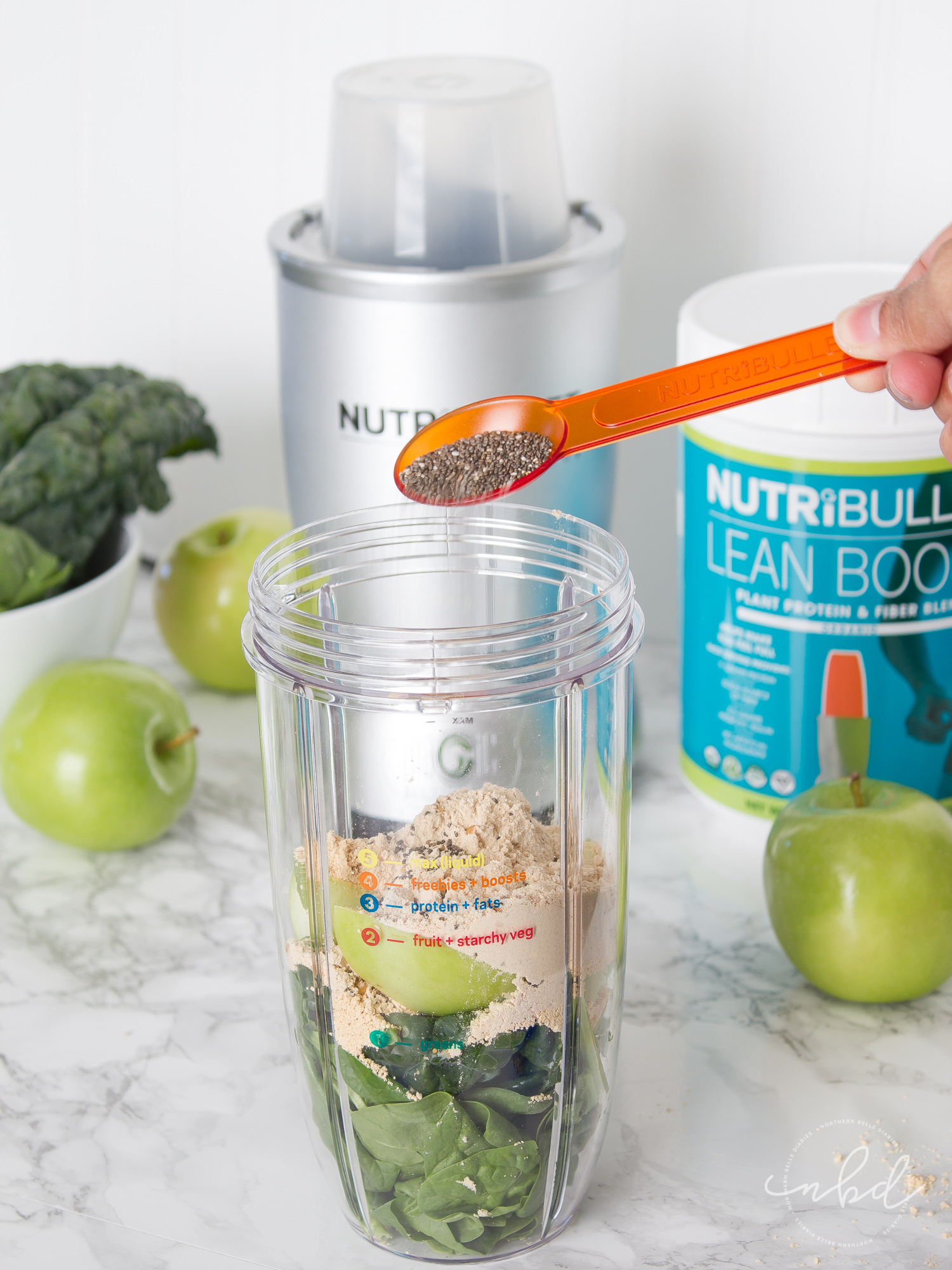NutriBullet LEAN system 7-Day transformation adding extras