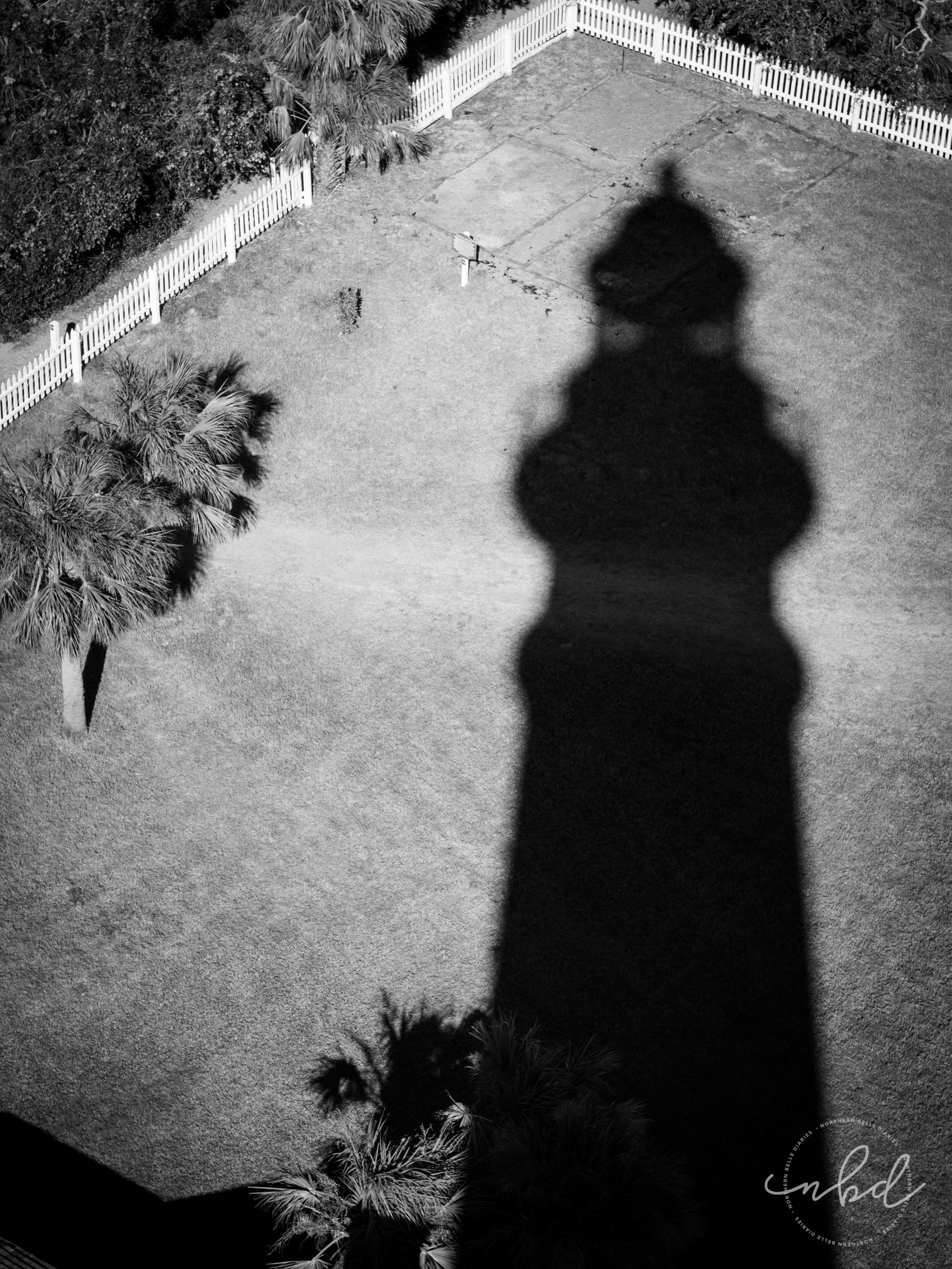 Ponce DeLeon Lighthouse shadow -Daytona Beach
