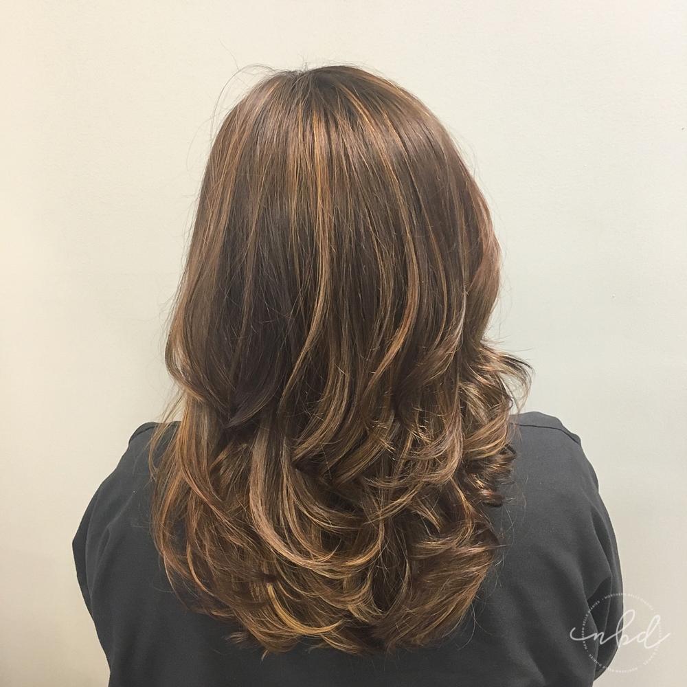 new Balayage hair