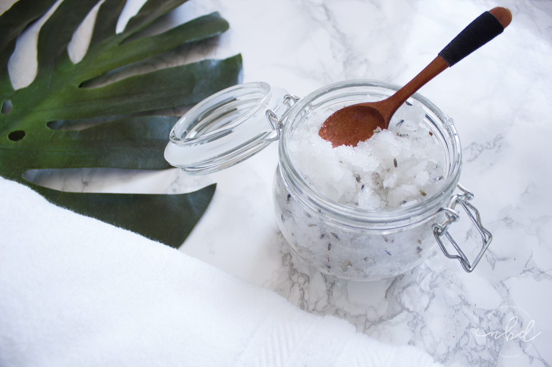 How to Make Lavender Bath Salts