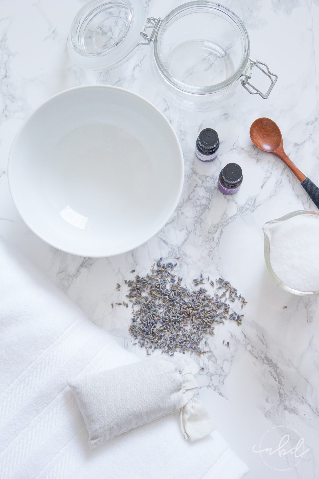How to make DIY Lavender Bath Salts