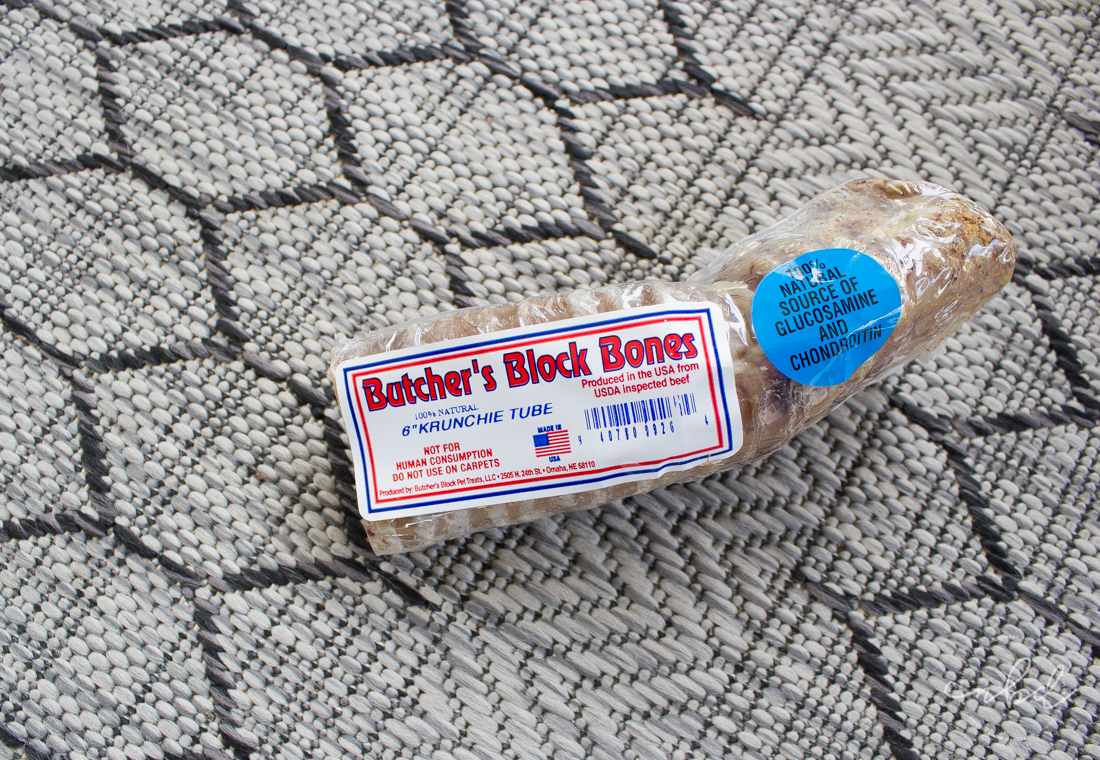 Butcher's Block Bones | BarkBox March 2017 treats