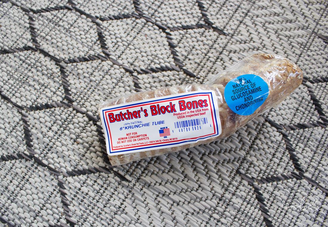 Butcher's Block Bones | BarkBox March 2017 treats
