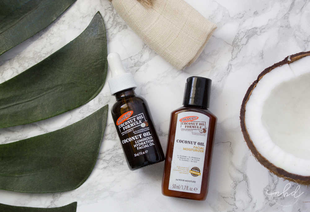 Palmer's Coconut Oil Formula | Coconut Oil Luminous Facial Oil + Facial Moisturizer #CoconutRadiance