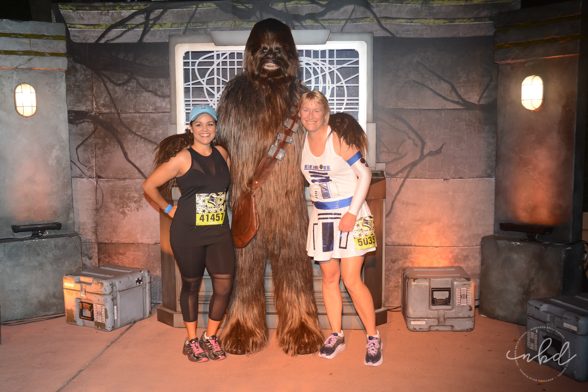 Disney Star Wars Darkside Challenge 5k | Chewbacca