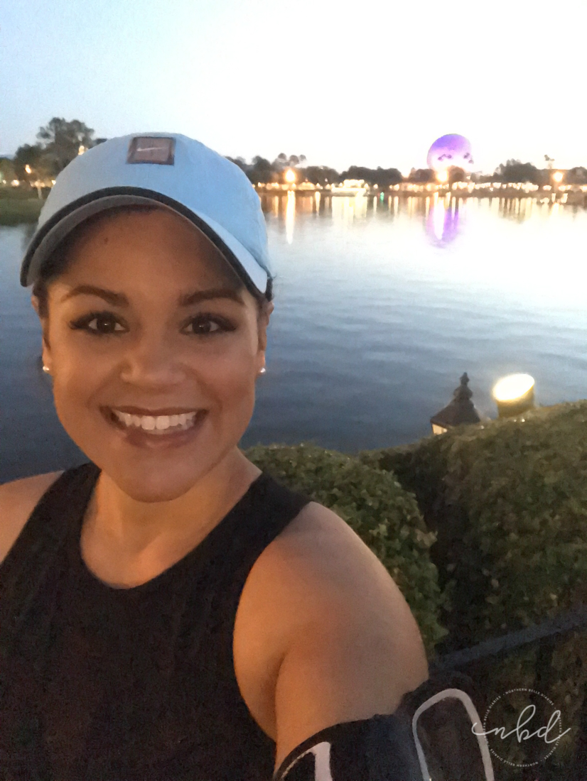 Disney Star Wars Darkside Challenge 5k | Epcot at sunrise