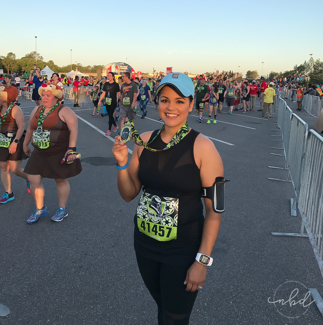 Disney Star Wars Darkside Challenge 5k | Finished!