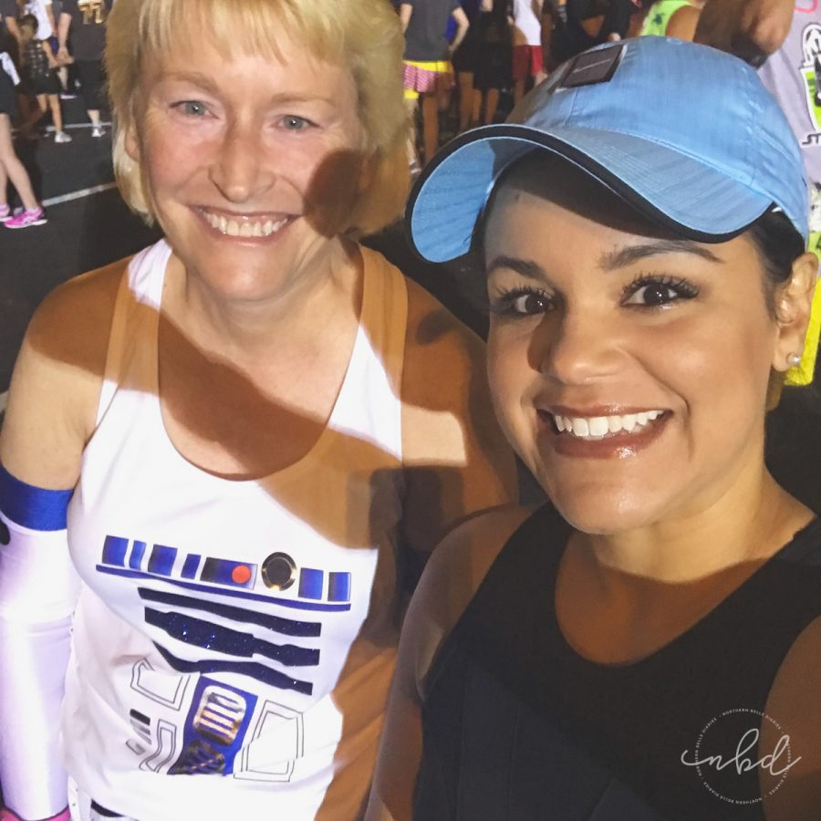 Disney Star Wars Half Marathon The Dark Side 5k | In the corral before the race
