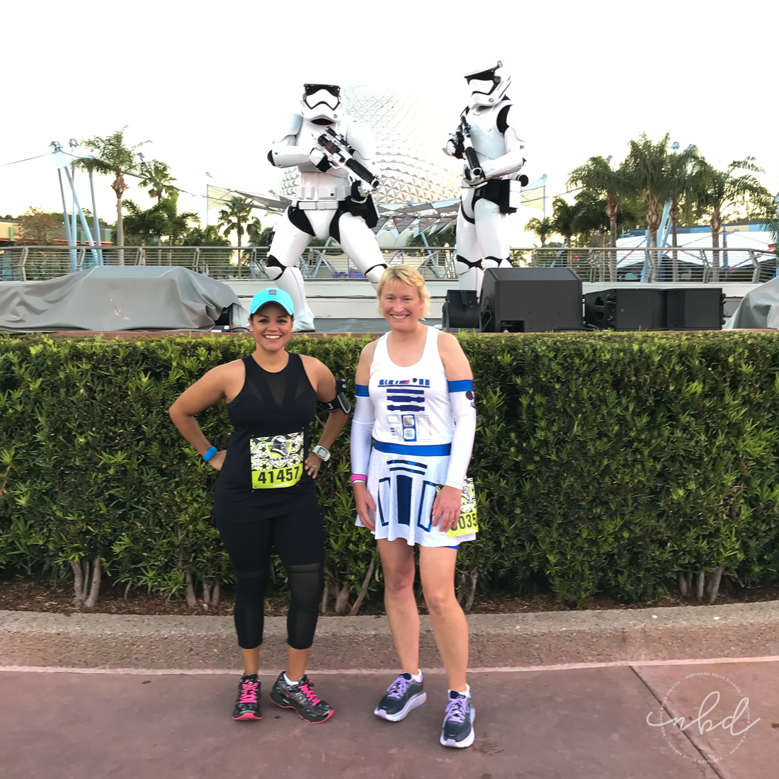 Disney Star Wars Darkside Challenge 5k | with the Storm Troopers