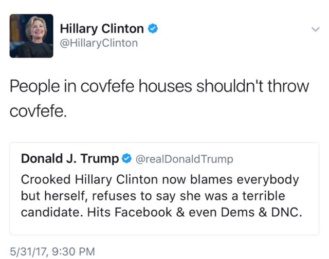 Covfefe houses