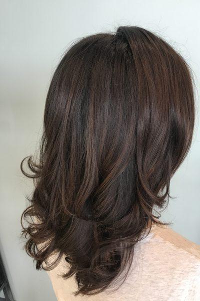 Dark chocoolate hair