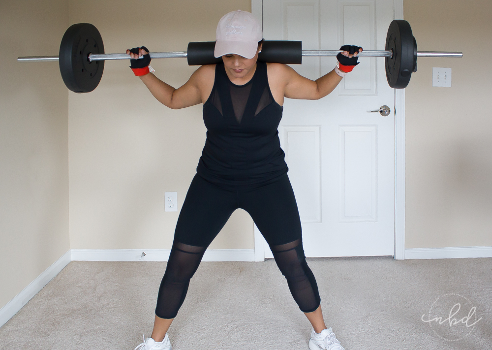 My Favorite Lower Body Exercises for Home Workouts | Barbell Sumo Squat