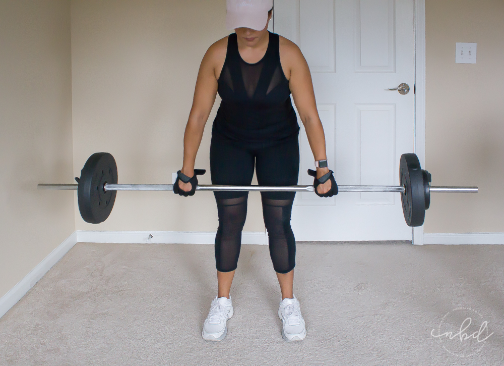 The Best Lower Body Exercises for Home Workouts | Barbell Deadlifts