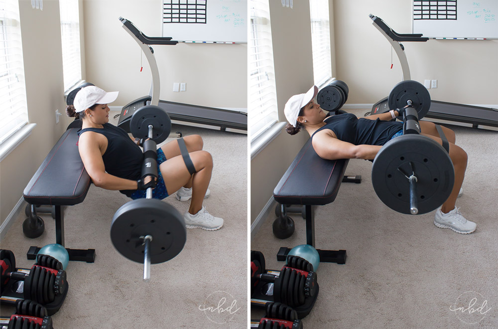 The Best Lower Body Exercises for Home Workouts | Barbell Hip Thrusts