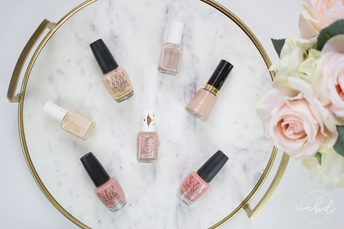 My Favorite Nude Nail Polishes for Medium Skin