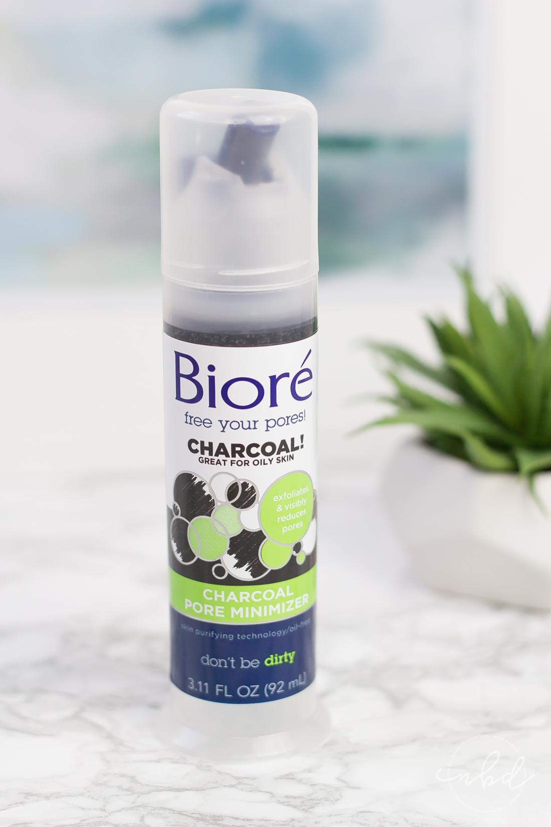 Anti-Aging Skincare for Acne-Prone Skin   La La Lisette   Bioré Charcoal Pore Minimizer